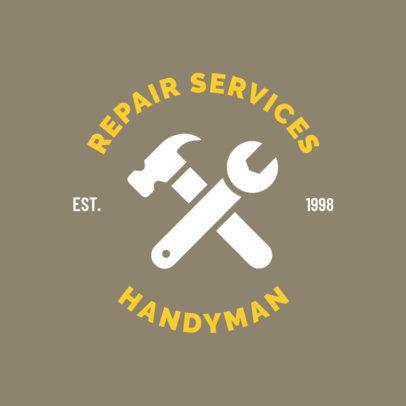 Logo Creator for Professional Handyman Services 1427f-111-el