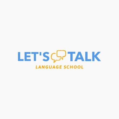 Online Logo Generator for a Language Center 1364f 37-el