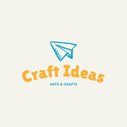 Minimalist Arts and Crafts Logo Template 1402f 37-el
