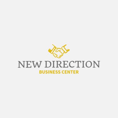 Online Logo Maker for a Business Center 1203g-37-el