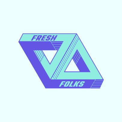 Streetwear Clothing Brand Logo Generator Inspired by Palace 2650c