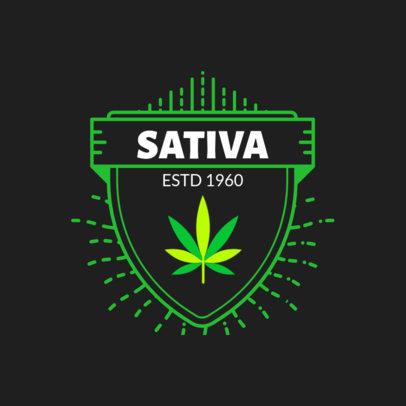 Cannabis Logo Maker 161-el