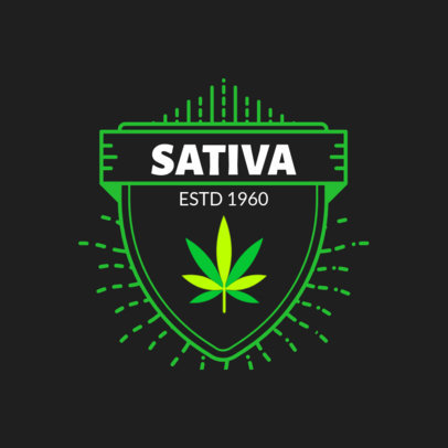 Cannabis Logo Maker