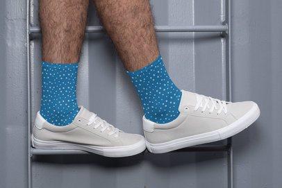 Mockup of Customizable Socks for Men 29950