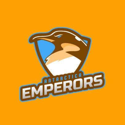 Sports Logo Maker Featuring a Fierce Penguin Graphic 2693a