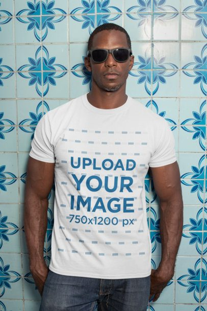 T-Shirt Mockups With Black Models