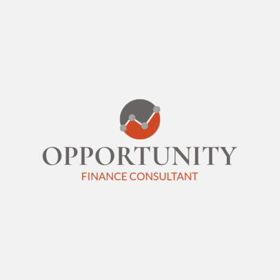 Online Logo Template for Financial Consulting Firms 1175m 75-el