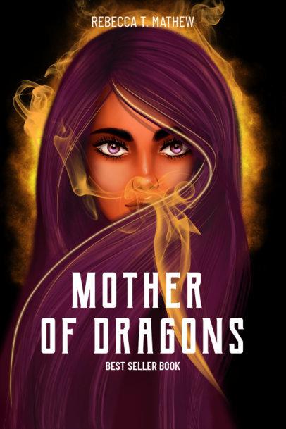 Book Cover Maker for a Fantasy Story 533e