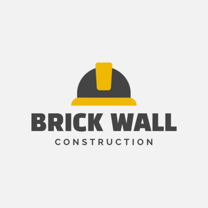 Online Logo Maker for a Construction Company 1175g-155-el