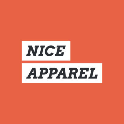 Urban Clothing Brand Logo Generator with a Minimalistic Style 2721g