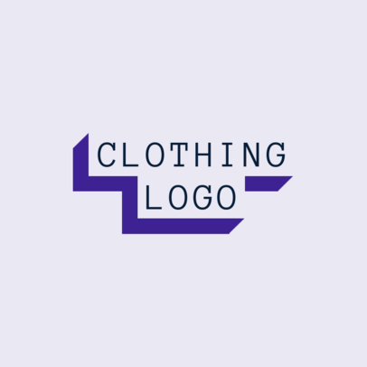 Streetwear Clothing Brand Logo Maker with a 3D Text Banner Style 2722j