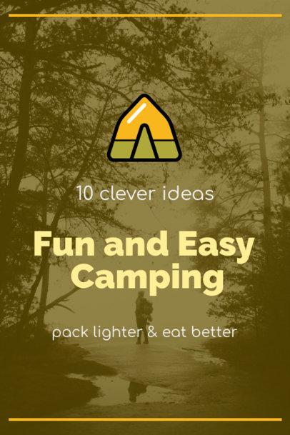 Pinterest Pin Maker for Camping Tips 1768h 115-el