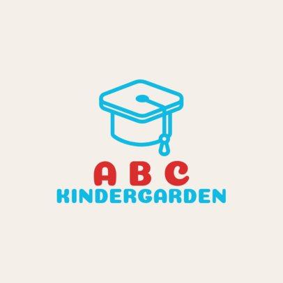 Simple Logo Generator for Preschools 1094i 114-el