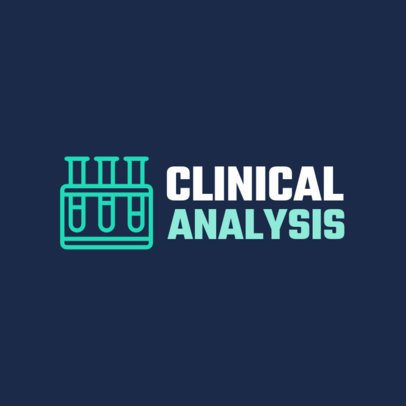 Clinical Analysis Laboratory Logo Template 1172i 114-el