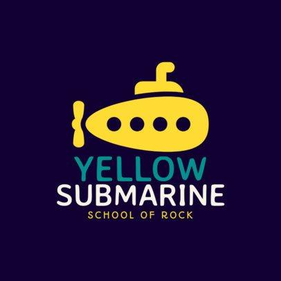 Online Logo Maker for a Music School 1136h 122-el