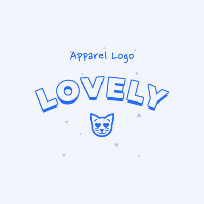 Lovely Logo Maker with a Cat Clipart 2736f