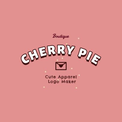 Sweet Logo Generator for a Clothing Brand 2736g