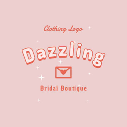 Feminine Logo Maker for a Bridal Boutique 2736i