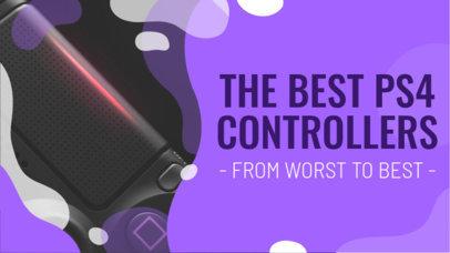 Gaming YouTube Thumbnail Maker for Controller Reviews 935e