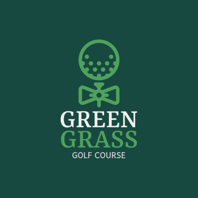 Logo Maker for a Classy Golf Club 1558f-225-el
