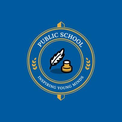 Online Logo Maker for Schools 1088j 255-el