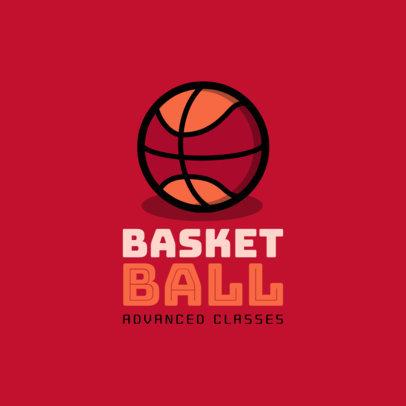 Online Logo Maker for a Basketball School 1653f 255-el
