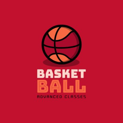 Online Logo Maker for a Basketball School 1653f 255-el