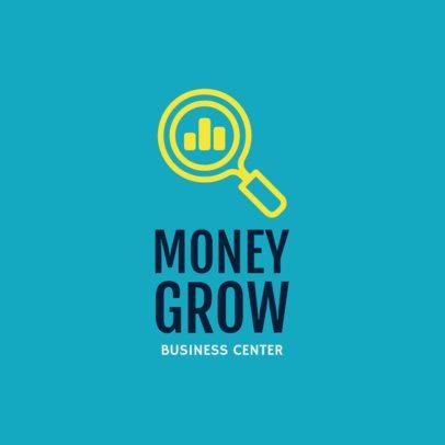 Online Logo Generator for a Financial Business Center 1203j 209-el