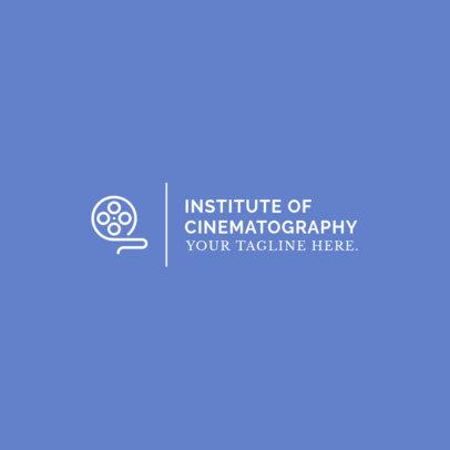 Logo Maker for a Cinematography School 1298h 263-el