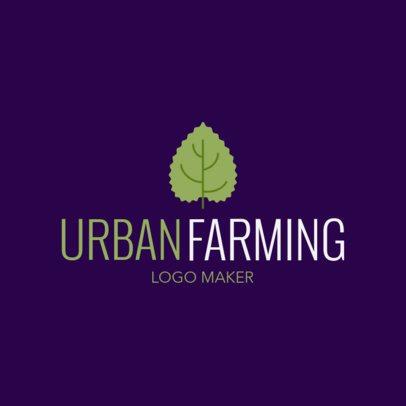 Logo Template for an Urban Farming Company 1435l-2660