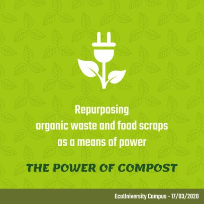Composting-Related Facebook Post Template 2029a