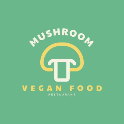 Simple Logo Generator for Vegan Restaurants 1258g 273-el