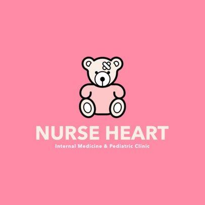 Friendly Logo Maker for a Pediatric Center 257c-el