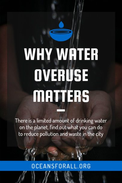 Pinterest Pin Maker for a Water Conscious Post 2031c