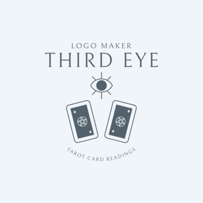 Mystic Logo Maker for a Tarot Reader