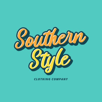 Clothing Brand Logo Creator Inspired by Another Place 2751f