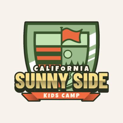 Adventurous Logo Maker for a Kids Summer Camp 2753e