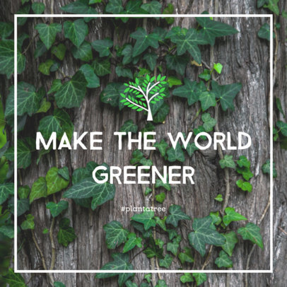 Online Banner Maker with a Green Quote 280k-2032