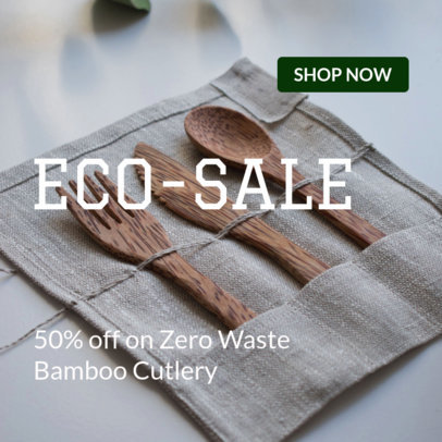 Online Banner Maker for an Eco-Sale 16638g 2032