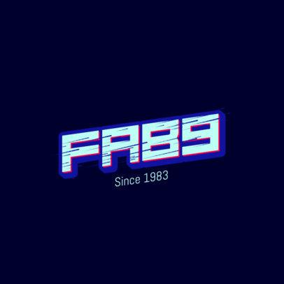 Modern Logo Maker for a Fab Streetwear Brand 2752d