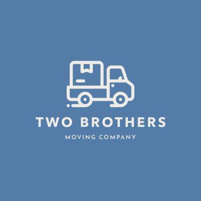 Online Logo Generator for Moving Companies 1385h 288-el