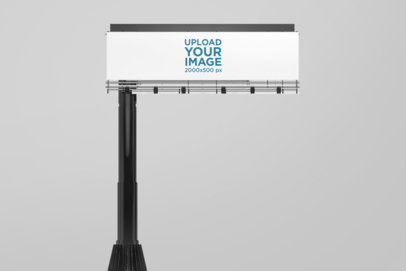Mockup of a Billboard Against a Customizable Background 1692-el