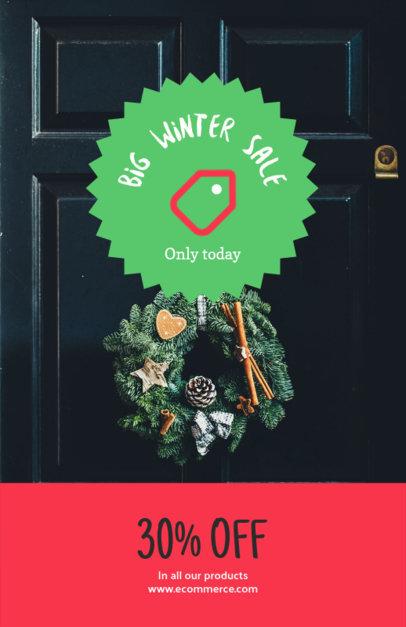 Christmas Flyer Maker for a Big Winter Sale
