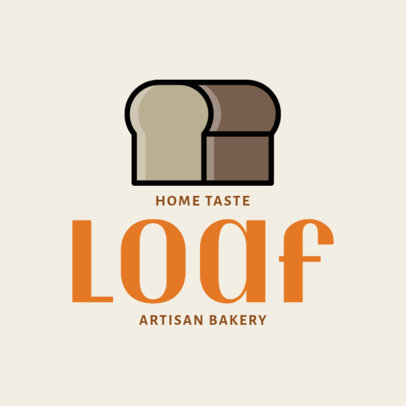 Restaurant Logo Maker with Simple Food Icons