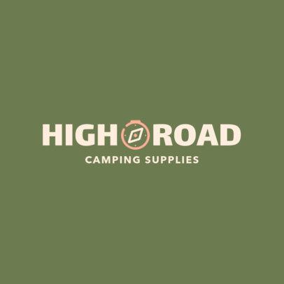 Logo Maker for a Camping Supplies Store 244-el