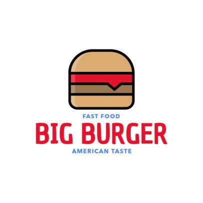 Simple Logo Maker for a Fast Food Restaurant 276c-el