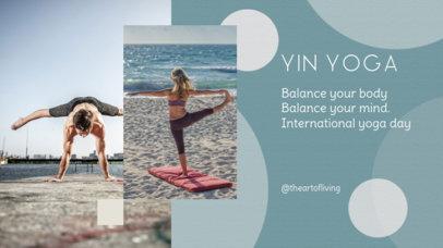 International Yoga Day YouTube Banner Maker 2054c
