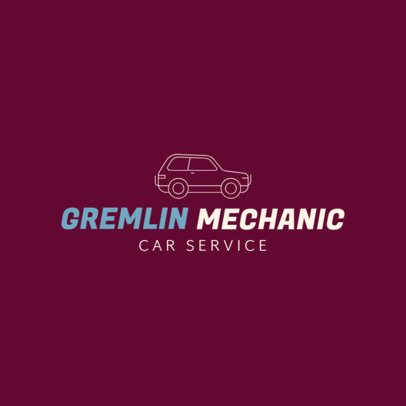 Online Logo Template for Mechanics 277c-el