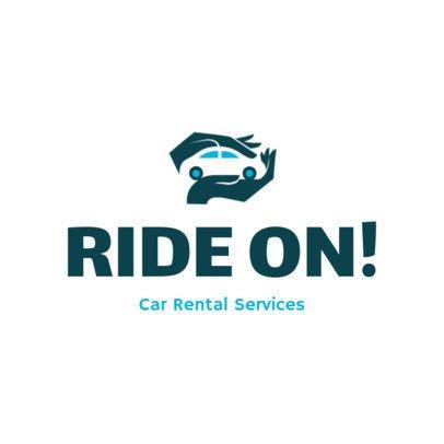 Online Logo Creator for a Car Rental Company 2774