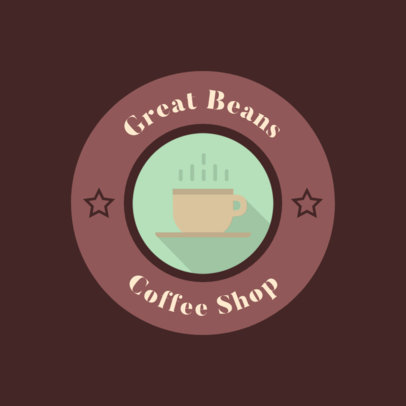 Classic Logo Maker for a Bakery and Coffee Shop 280b-el